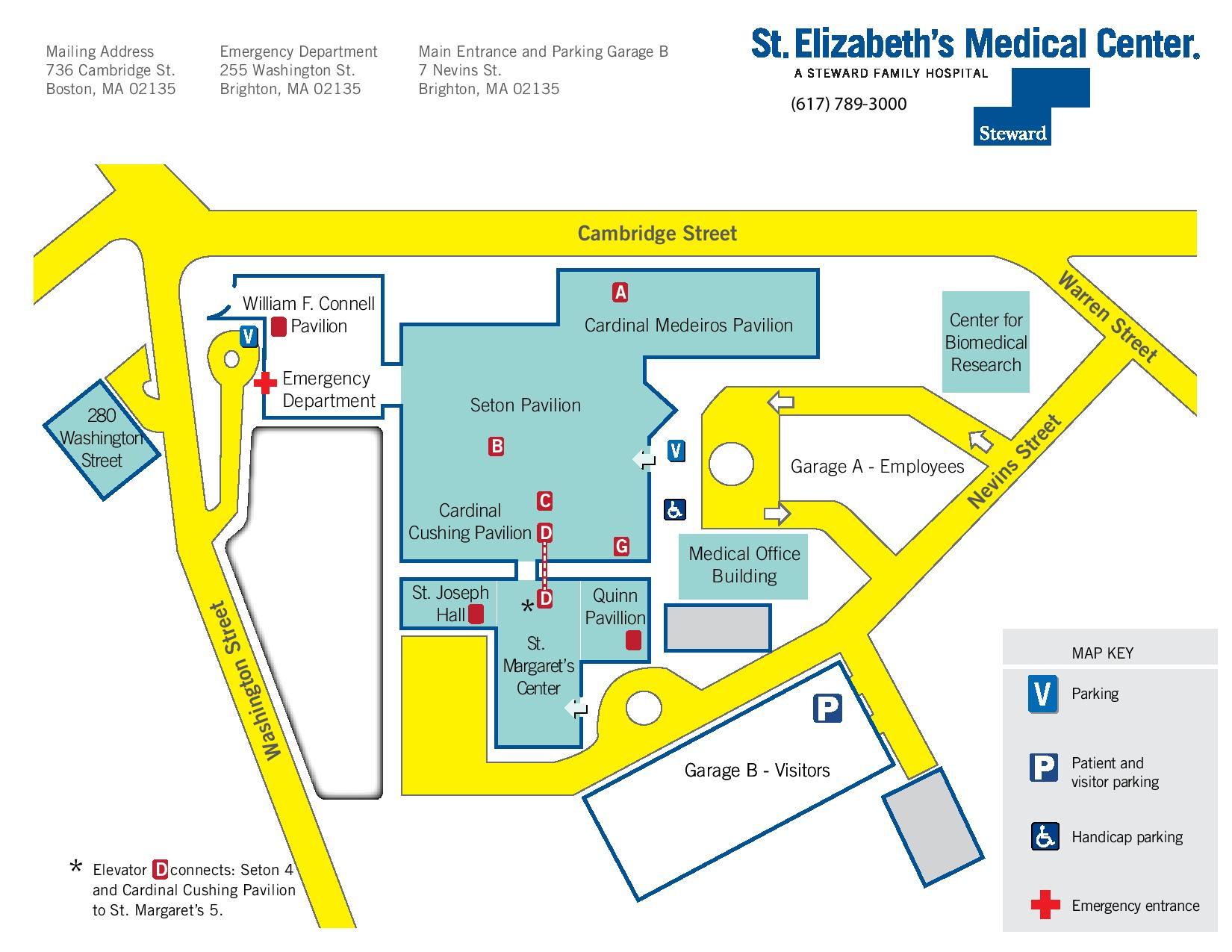 Directions & Campus Map