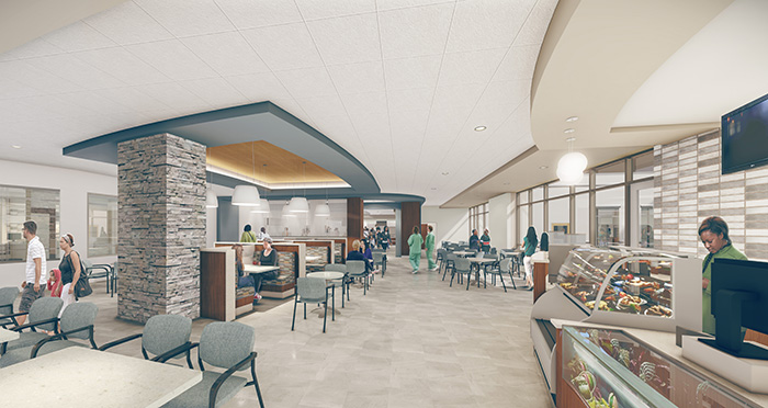 dining hall new hospital