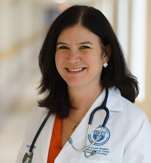 Dr. Tina Rizack, medical oncologist