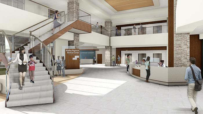Interior Lobby of new hospital