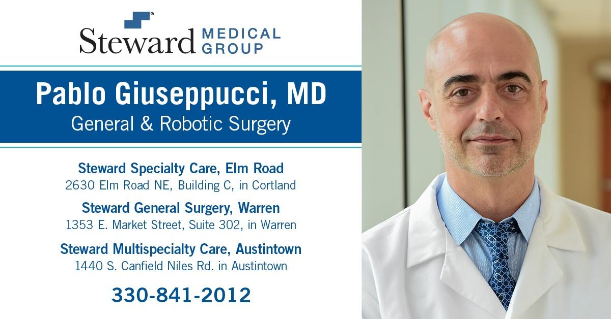 Dr. Pablo Giuseppucci, Robotic-Trained General Surgeon