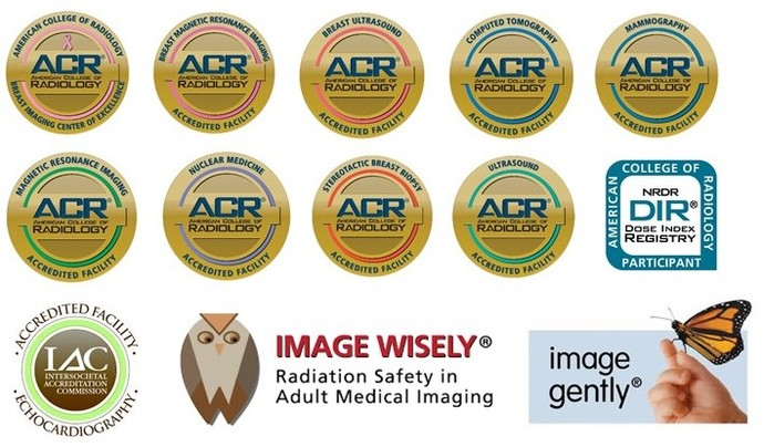 SAH Diagnostic Imaging accreditations