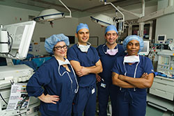 Dr. Conrad and Team