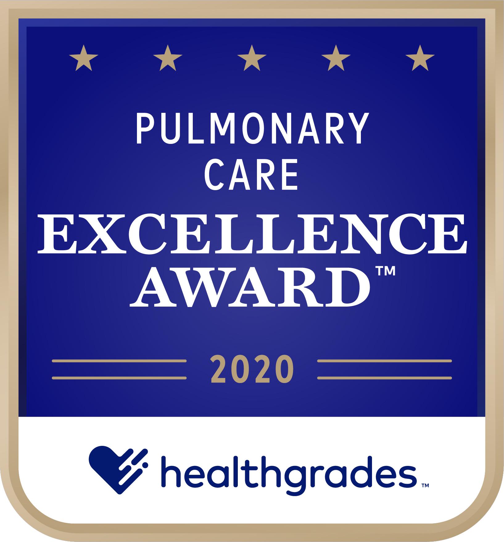 Pulmonary Care Award