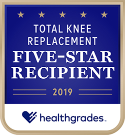 Healthgrades 5 Star Total Knee Replacement