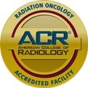 ACR accreditation radiation oncology logo
