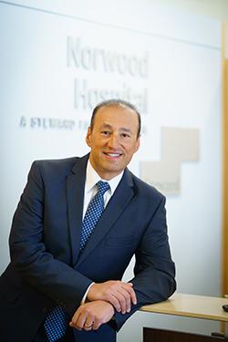 Sal Perla, Norwood Hospital President