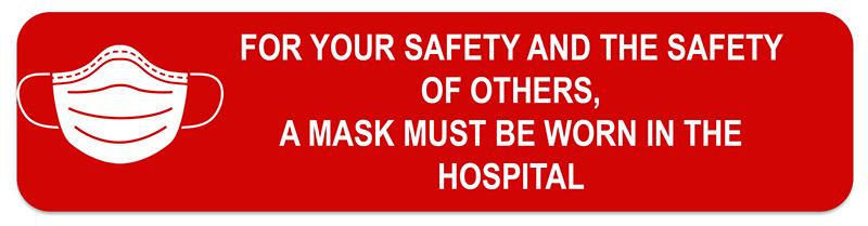 must wear mask