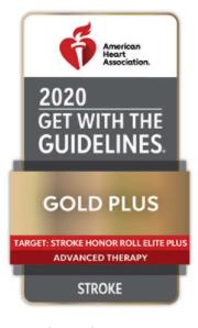 Gold Plus Stroke