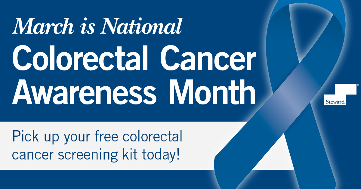 March is Colorectal Cancer Awareness Month- Pick Up Your Free Kit Today!