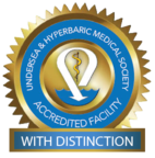 Underseat & Hyperbaric Medical Society Accredited Facility With Distinction