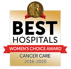 Women's Choice Award for Cancer Care 2016-2020 logo