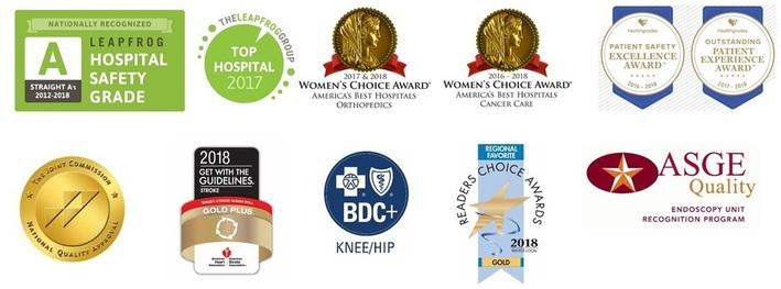 Saint Anne's Hospital awards 2017-2018