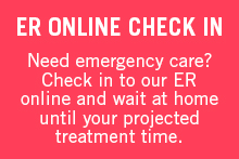 ER Check In Message