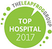 leapfrog top hospital social media icon