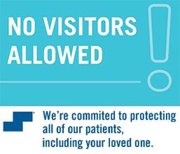 no visitors allowed graphic