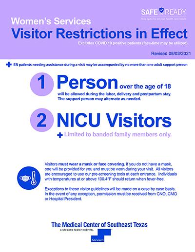 Women Service Restrictions