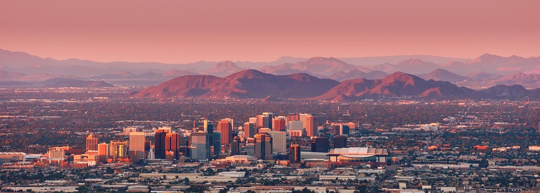 Panoramic Image of Phoenix