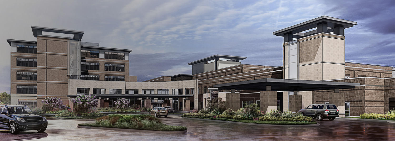 COMING 2024 - NEW WADLEY REGIONAL MEDICAL CENTER IN NORTHWEST TEXARKANA