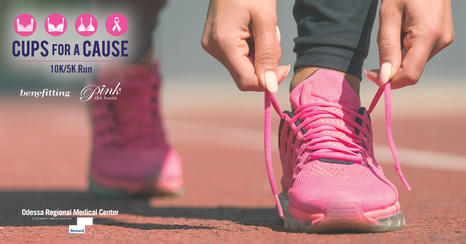Join the Women's Center of Odessa Regional Medical Center and Pink the Basin for a 10K/5K run to raise breast cancer awareness.