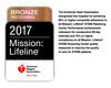 Mission: Lifeline 2017 Bronze Award
