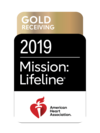 American Heart Association Mission: Lifeline® Gold Receiving Quality Achievement Award