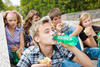 Teens Drinking Sodas